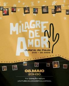 DVD celebra 20 anos de ministério da cantora